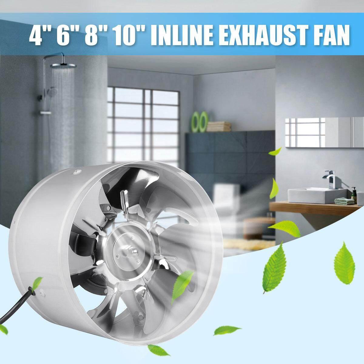 Hình ảnh Duct Fan Booster Exhaust Ventilator Ventilation Vent Air 4''20W