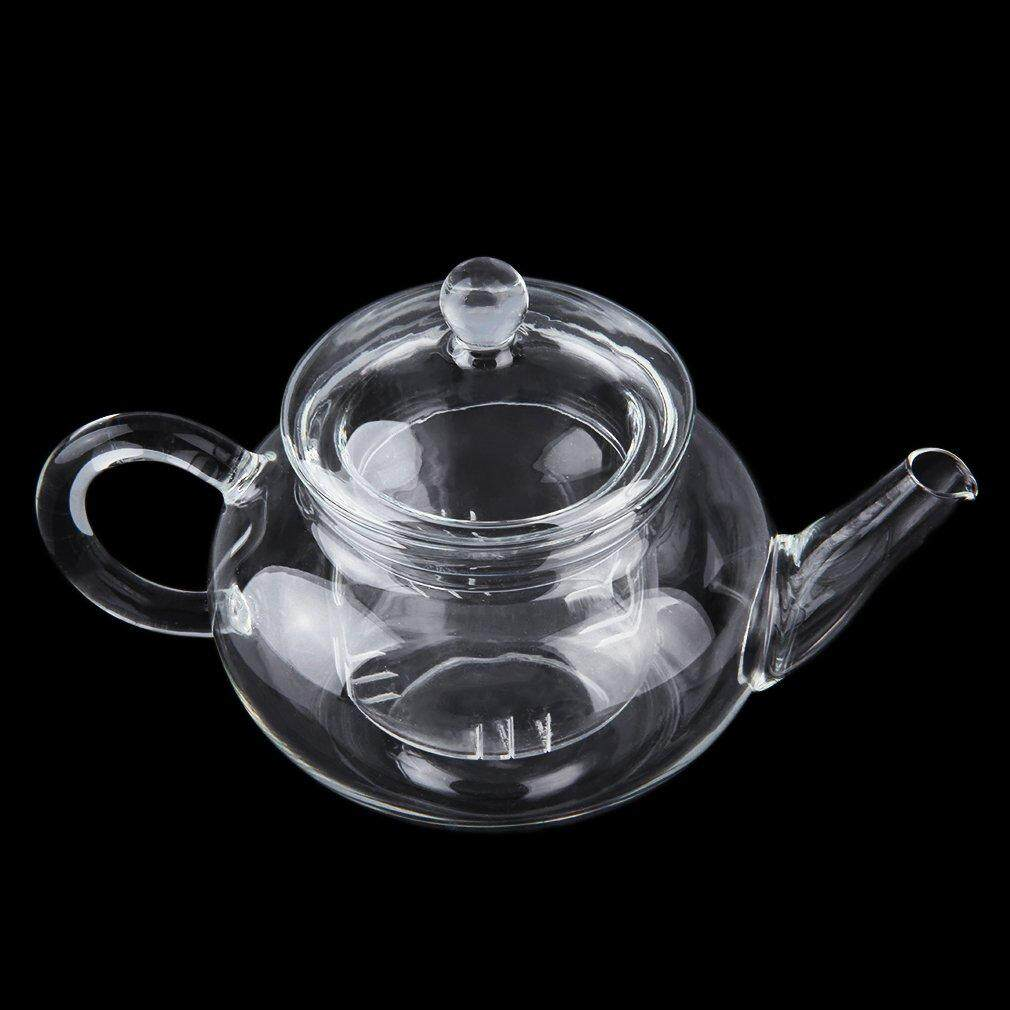 GoSport Heat Resistan Glass Teapot With Infuser Coffee Tea Leaf Herbal Pot 250ml