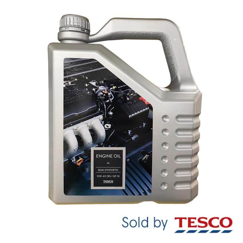Tesco Semi Synthetic Oil 10W-40 Sm/Cf 4 Litre