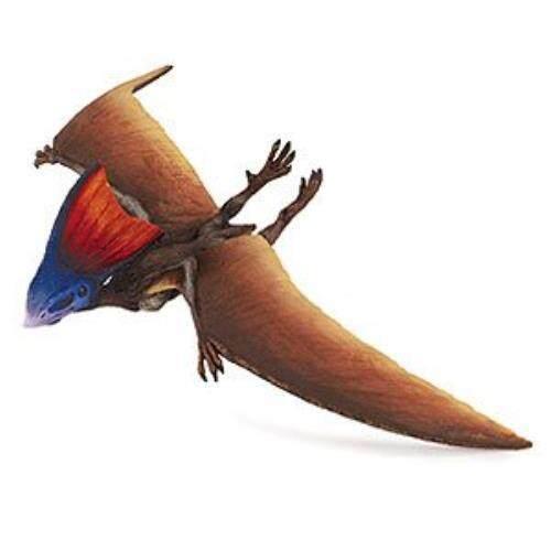 Safari Ltd Dinosaur dan Koleksi Kehidupan Prasejarah-Tapejara-Soaring dan Model Lukisan Mainan Lukis Handal Yang Realistis-Kualitas konstruksi dari Bahan Bebas Aman dan BPA-untuk Usia 3 dan Ke Atas-Internasional