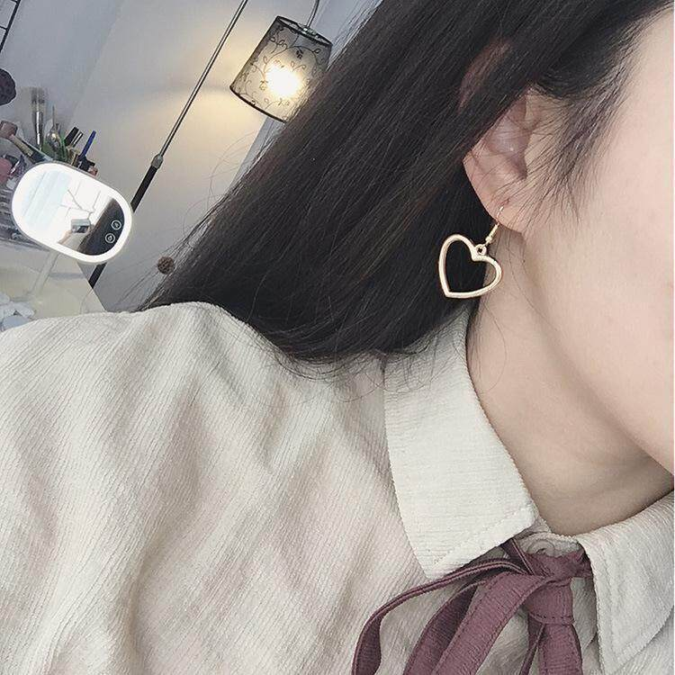 【Bdawn-Fashion】japanese Harajuku Lembut Gadis Manis Bentuk Hati Cinta Manis Berbentuk Hollow