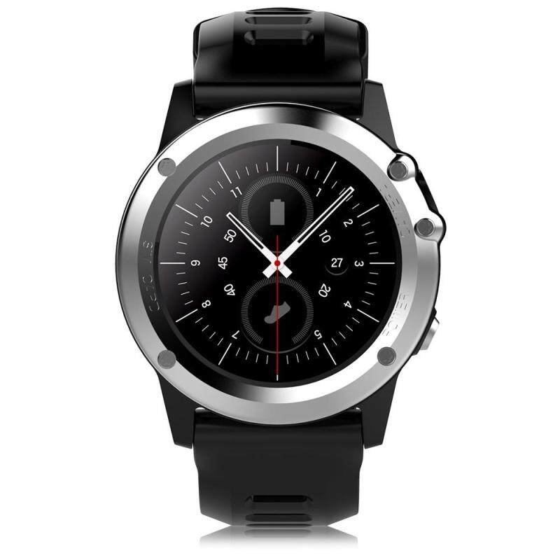 Microwear H1 3G Smartwatch Phone 1.39 inch Android 4.4 MTK6572 Dual Core 1.2GHz 4GB ROM IP68 Waterproof 2.0MP Camera Pedometer Malaysia