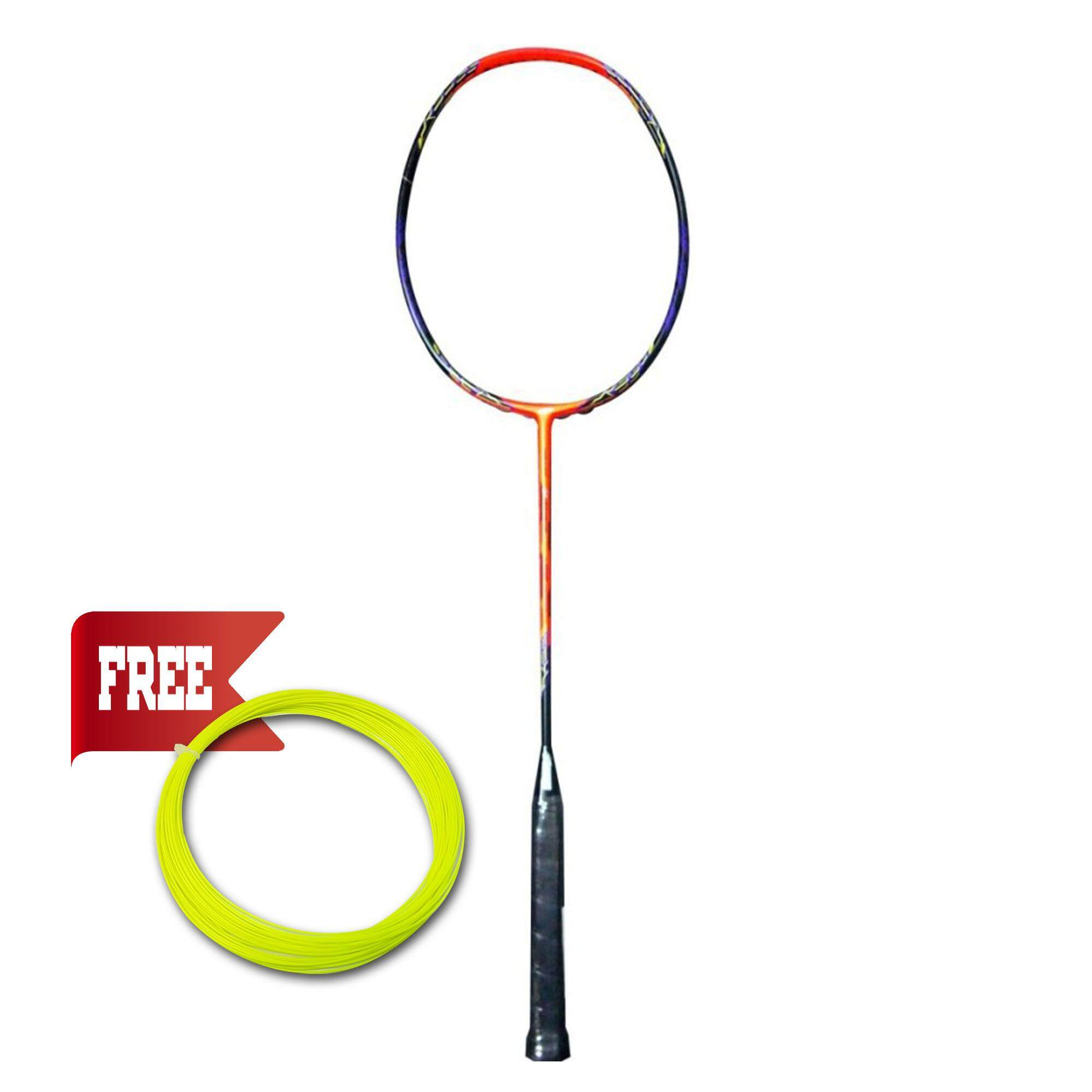 AMBROS Voltaic T-Force Racquet - ORANGE/BLACK