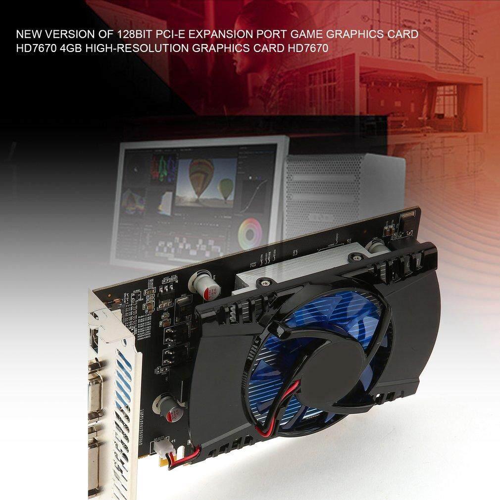 Oh Game Video Kartu Grafis untuk HD7670 4G/128bit GDDR5 480 Stream Processor-Intl