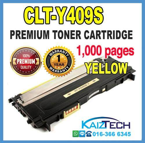 Samsung 409 / CLT-Y409S YELLOW Compatible High Quality Colour Laser Toner Cartridge For Samsung CLP 310 / 310N / 315 / 315W / CLX 3170 / 3175 / 3175N / 3175FN / 3175FW Printer Toner