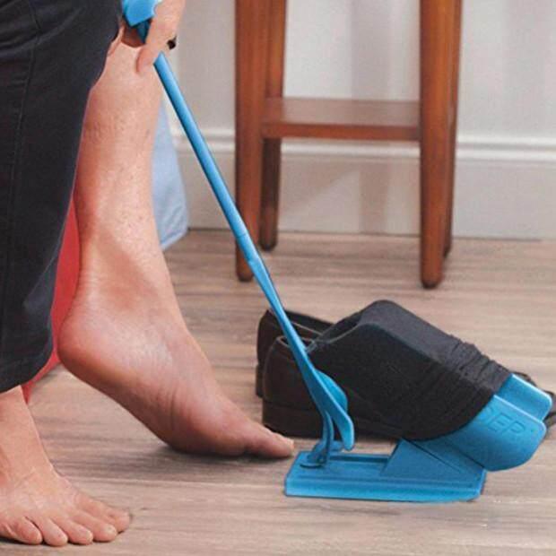 ถุงเท้า Dressing เสริมอุปกรณ์รองเท้าสวมใส่เครื่องมือช่วยเหลือ By Ytgp Fashion.