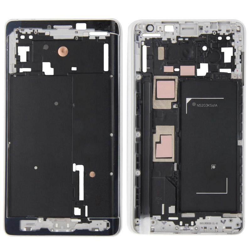 Ipartsbuy Depan Kerangka LCD Bingkai Bezel Piring untuk Samsung Galaksi Note Sisi/N915 (Putih)-Internasional