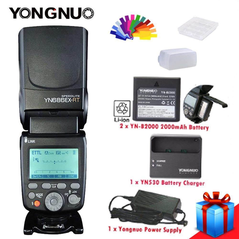Features Yongnuo Yn 568ex Ii Ttl Flash Speedlite Master Hss 1 8000s 565ex Lcd For Canon Yn686ex Rt Wireless Slave Light