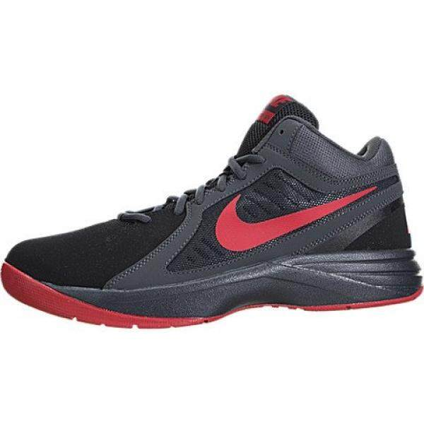 Nike Mens The Overplay VIII NBK Blk/Unvrsty Rd/Anthrct/Drk Gry Basketball Shoe en US - intl