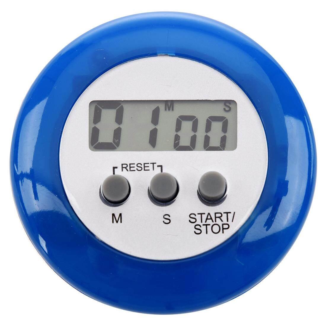 Biru Digital Elektronik Magnetik Dapur Penghitung Waktu-Internasional