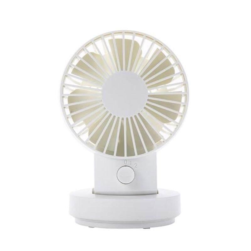 Bảng giá Portable Mini 3 Levels of Wind Speed USB Fan Battery Powered Rechargeable Adjustable Desk Fan Pivoting Fan Phong Vũ