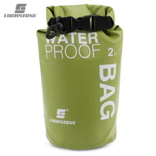 LUCKSTONE Drifting Water Resistant Ultralight 2L / 5L Dry Bag (GREEN PEAS)