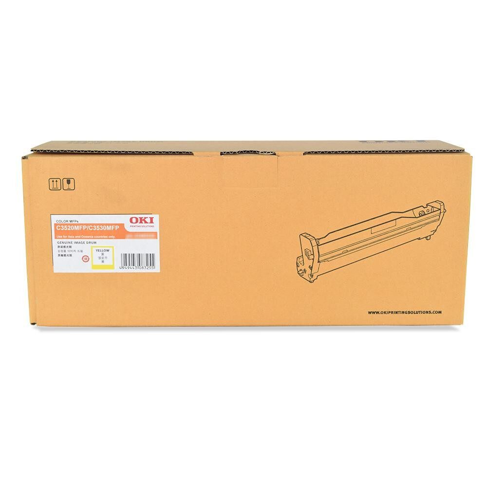 OKI C3530 Yellow Drum 43460225 (Item No: OKI C3530 YELDR)