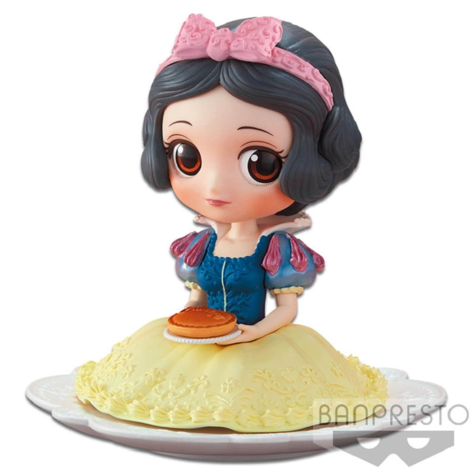 Banpresto Q Posket Sugirly Disney Princess Figure Milky Version - Snow White Toys for boys