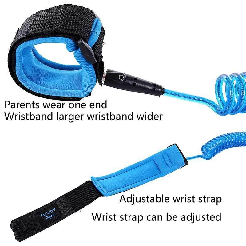 Kids Baby Safety Anti-lost Strap Walking Harness Toddler Wrist Band Leash .