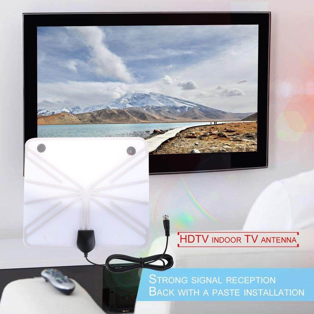 FULL 1080P Antena Digital HDTV Antenna 50 Miles Range Indoor Flat TV Antenna