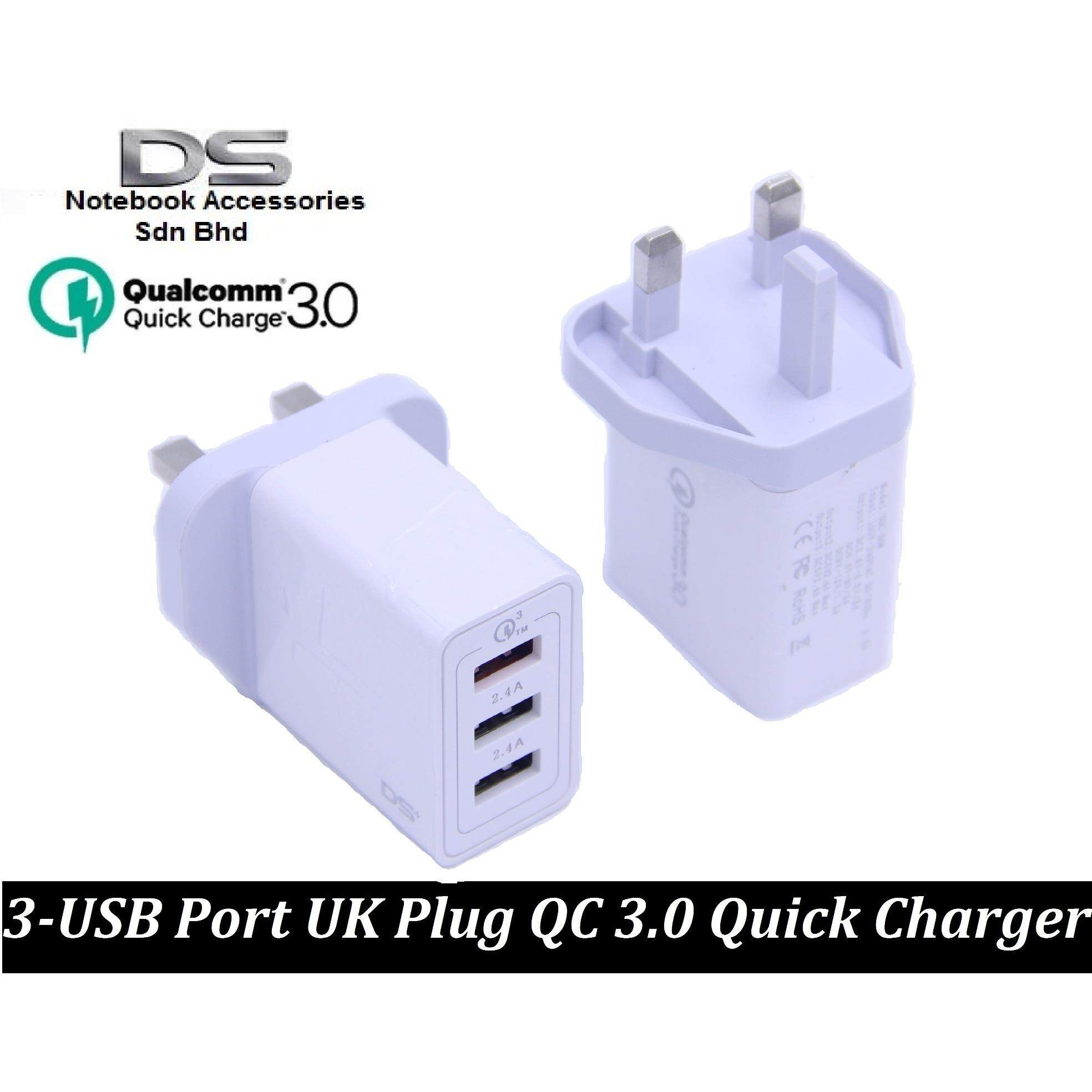 Fitur Roker Thunder Travel Charger Qualcomm Quick Charge 3 0 Single Tronsmart 30 42w Port W3pta Certified Qc Usb Wall Uk Plug