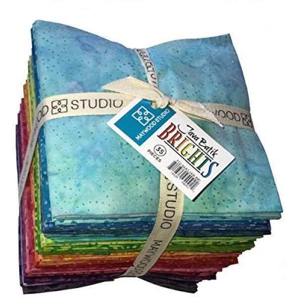 Java Batik Brights 35 Fat Quarters for Maywood Studio - intl