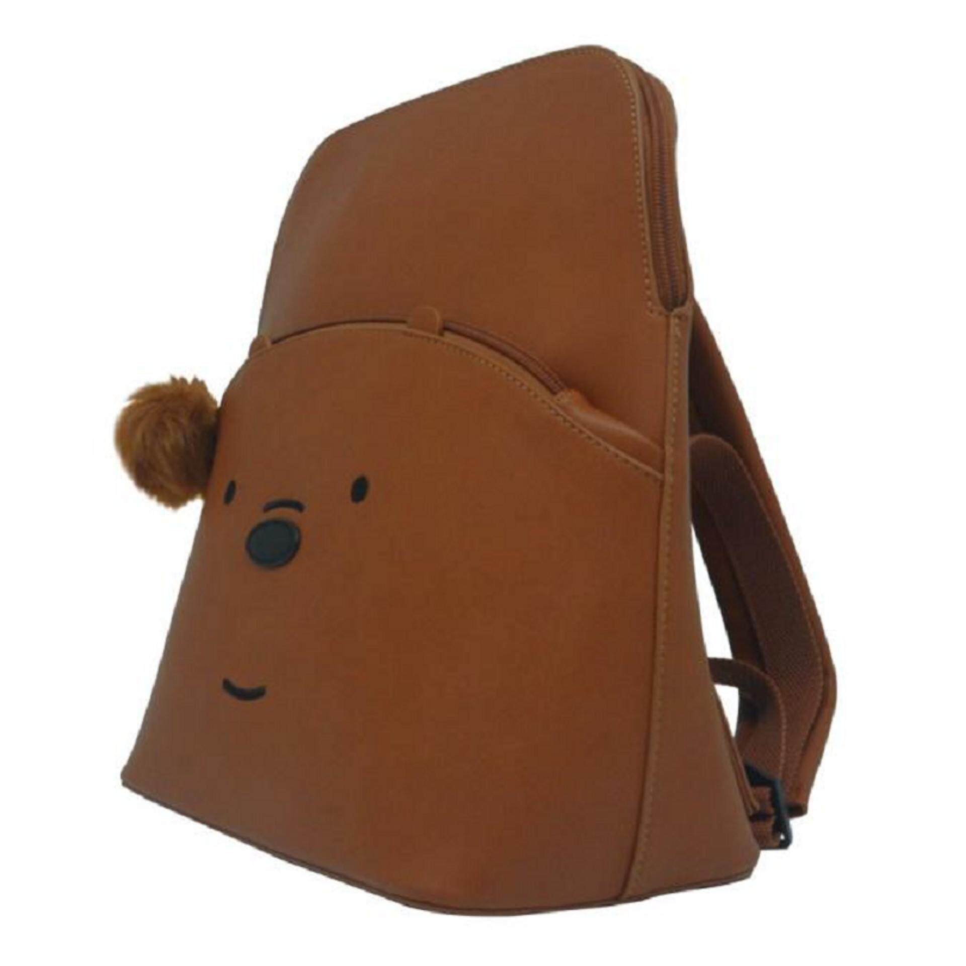 We Bare Bears Backpack School Bag 12.5 Inches - Grizz