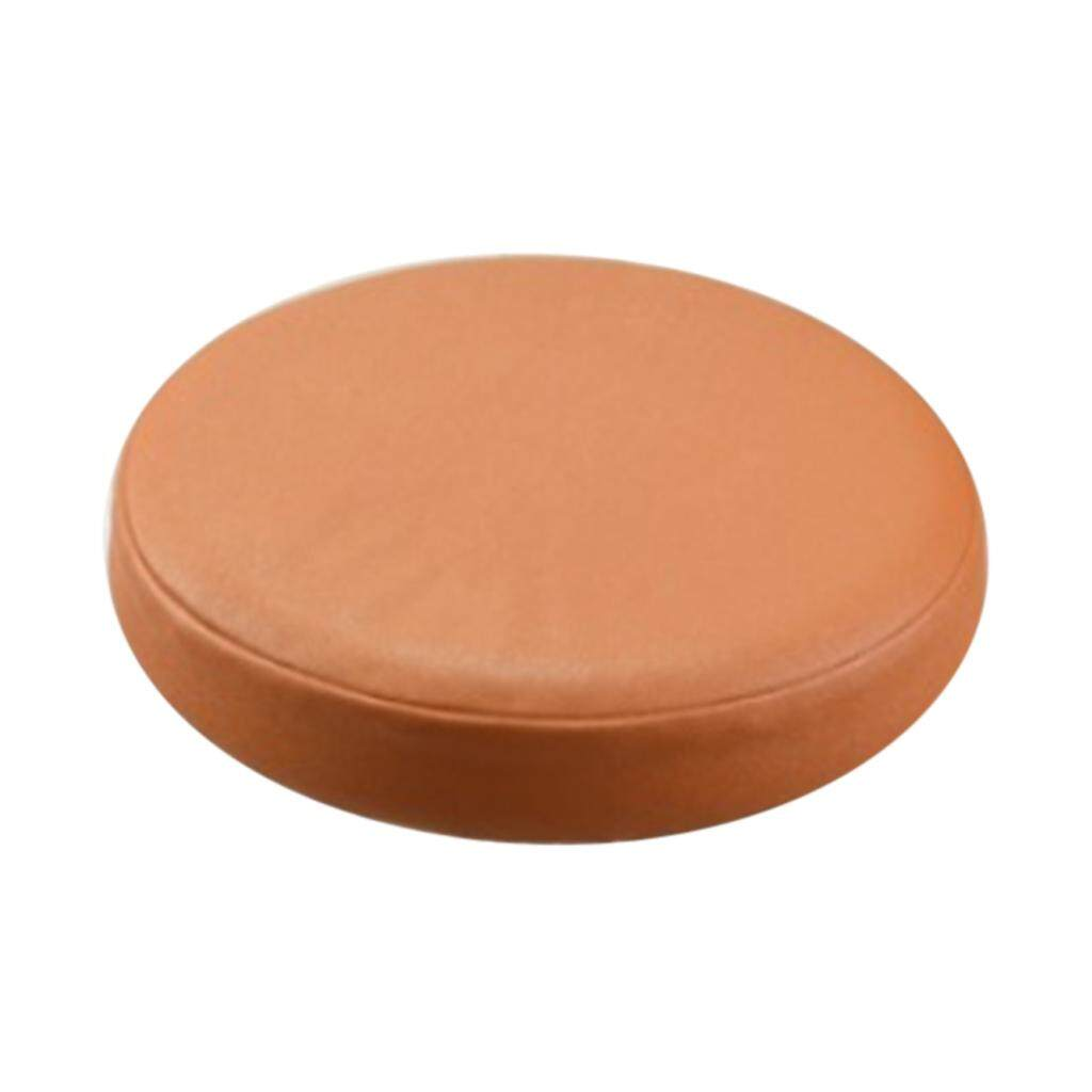 BolehDeals Elastic Bar Stool Covers Round Chair Seat Cover Cushion Slipcover Orange - intl