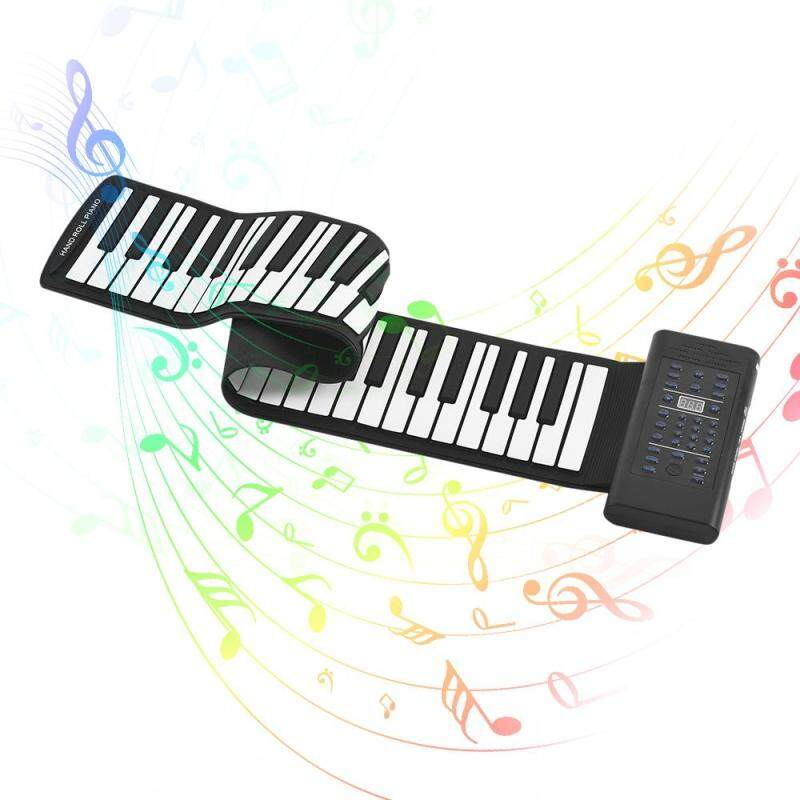 Portable 61-Key Roll Up Piano E Keyboard Silicon Malaysia