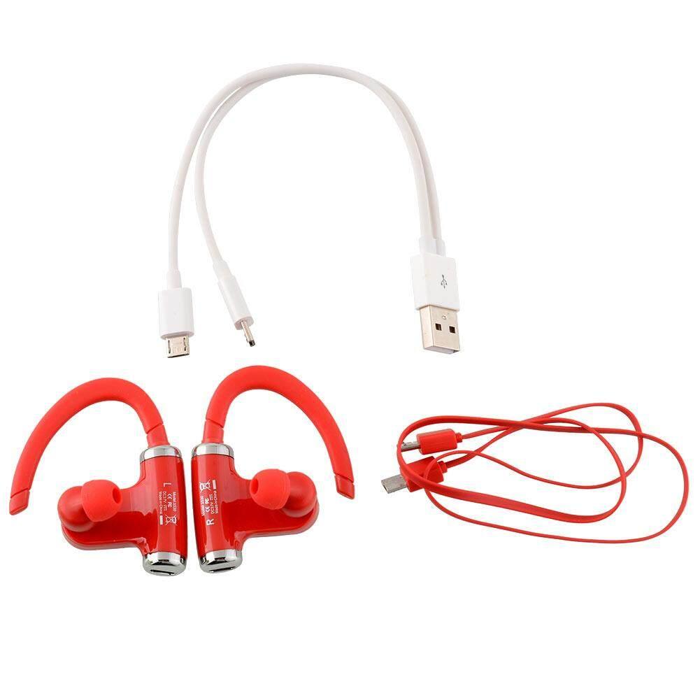 Oscar Store (Clearance Sale) Red Roman S530 Bluetooth 4.0 Wireless Sports Stereo Waterproof Headset
