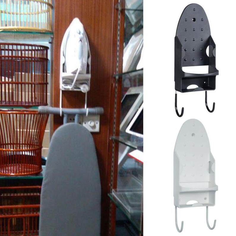 Where Can You Buy Iron Board Door Wall Mount Storage Rack Holder Hanger Cupboard Black White Intl