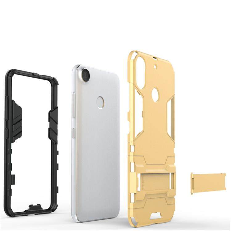 Untuk HTC Desire 10 Pro Case Iron Manusia Pelindung Sarung untuk HTC Desire10 Pro Penuh Perlindungan Telepon Perumahan Handphone Selubung -Internasional