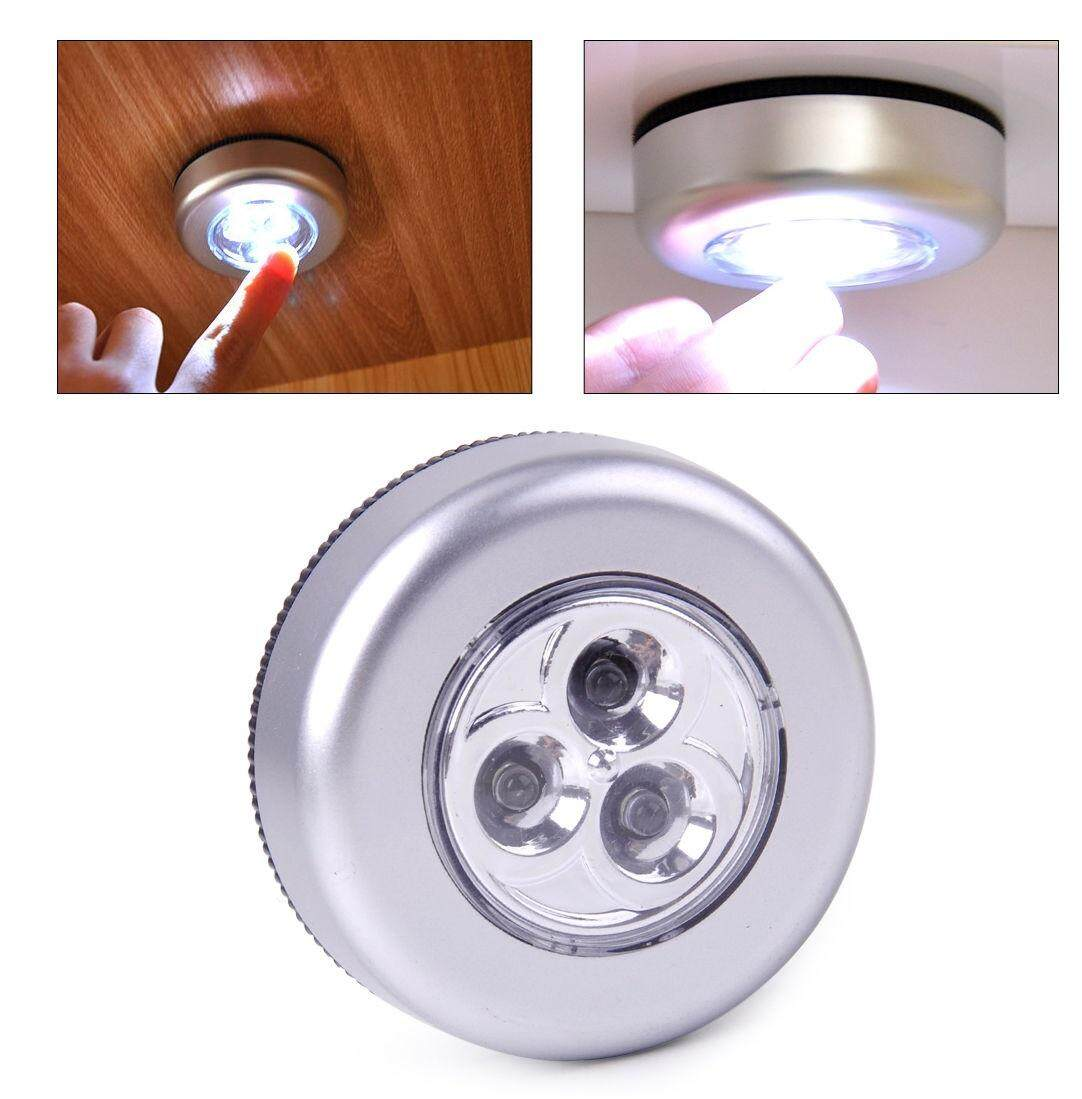 Buying Stick Touch Lamp N Click Emergency Lampu Tempel Darurat Led 3 Battery Powered Tap Light For Closet Wall Car