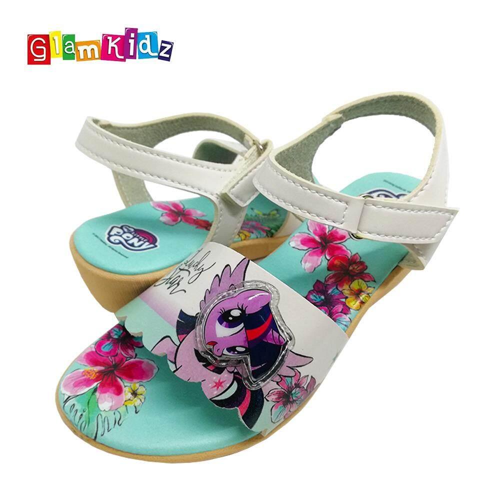 Glamkidz My Little Pony Children Shoes for Kids Sandals / Slippers with LED for Girls Kids Shoes (Green) #6237 Kasut Budak Perempuan Kasut Kanak Kanak Perempuan Shoes for Children Shoes for Kids Girl Kids Shoes Girl
