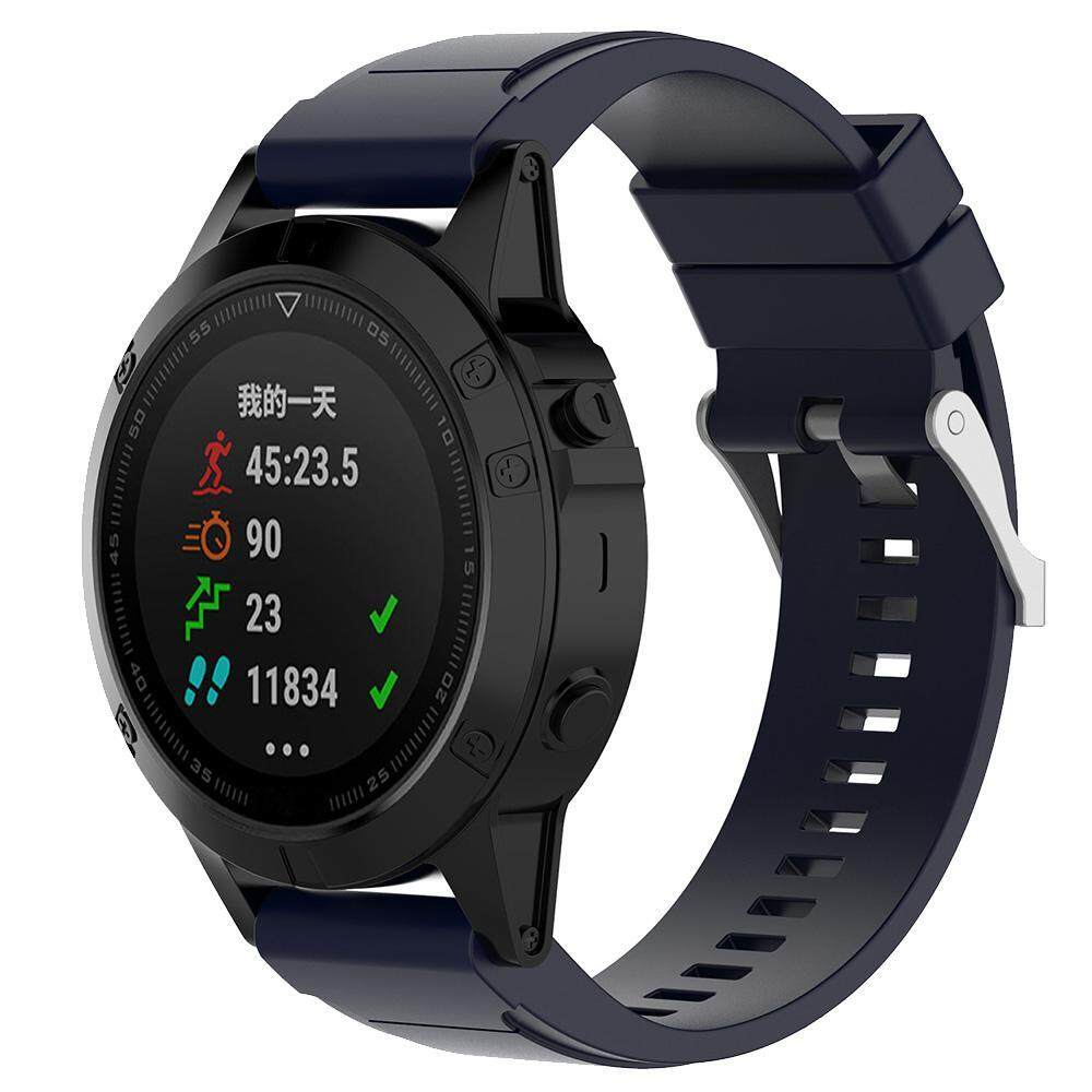Buy Cheap Quzhuo Replacement Strap Band For Garmin New Fashion Sports Silicone Bracelet Watch Strap For Garmin Fenix 5X 3 3 Hr 3 Sapphire D2 Bravo And More Models