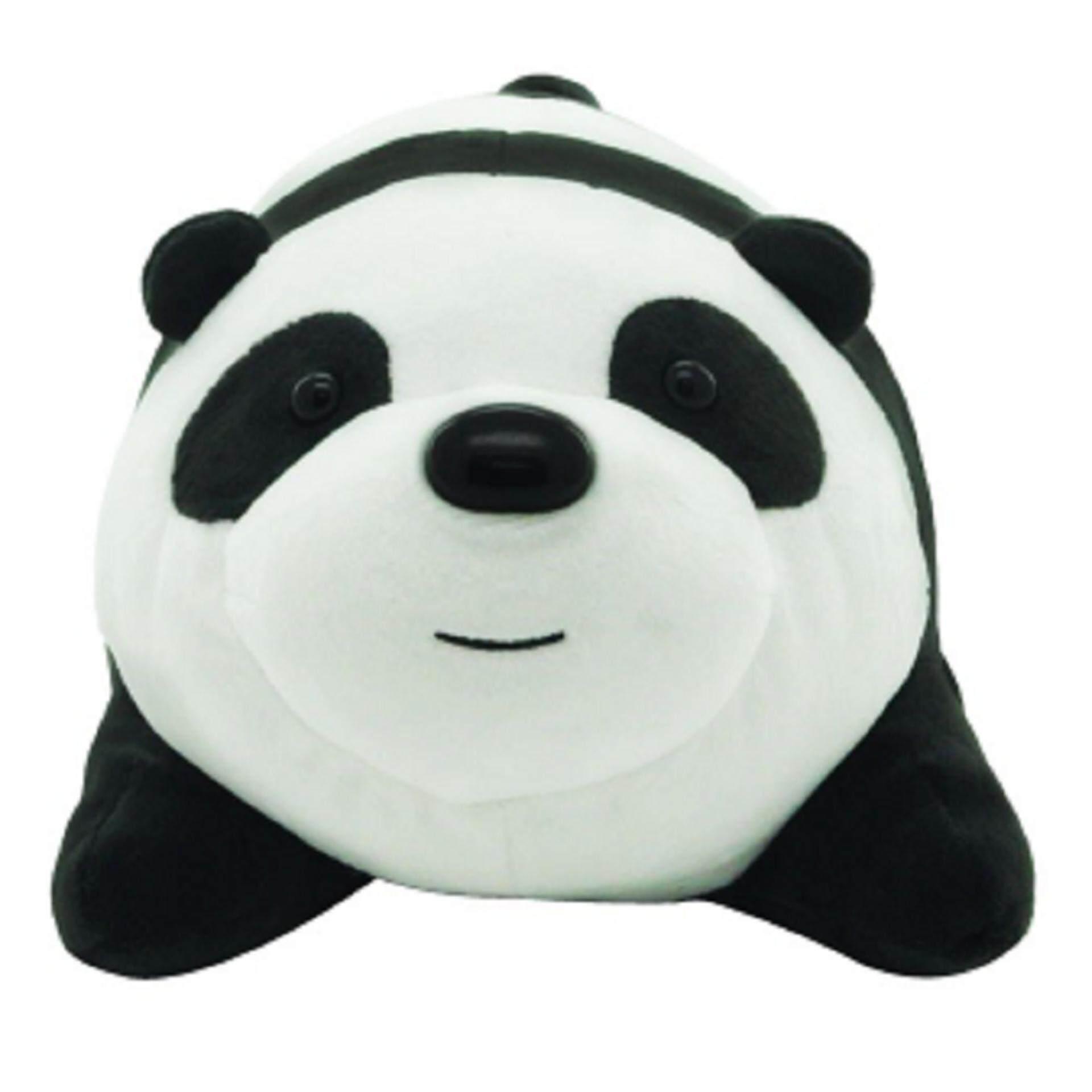 We Bare Bears Plush Cushion 14 Inches - Panda