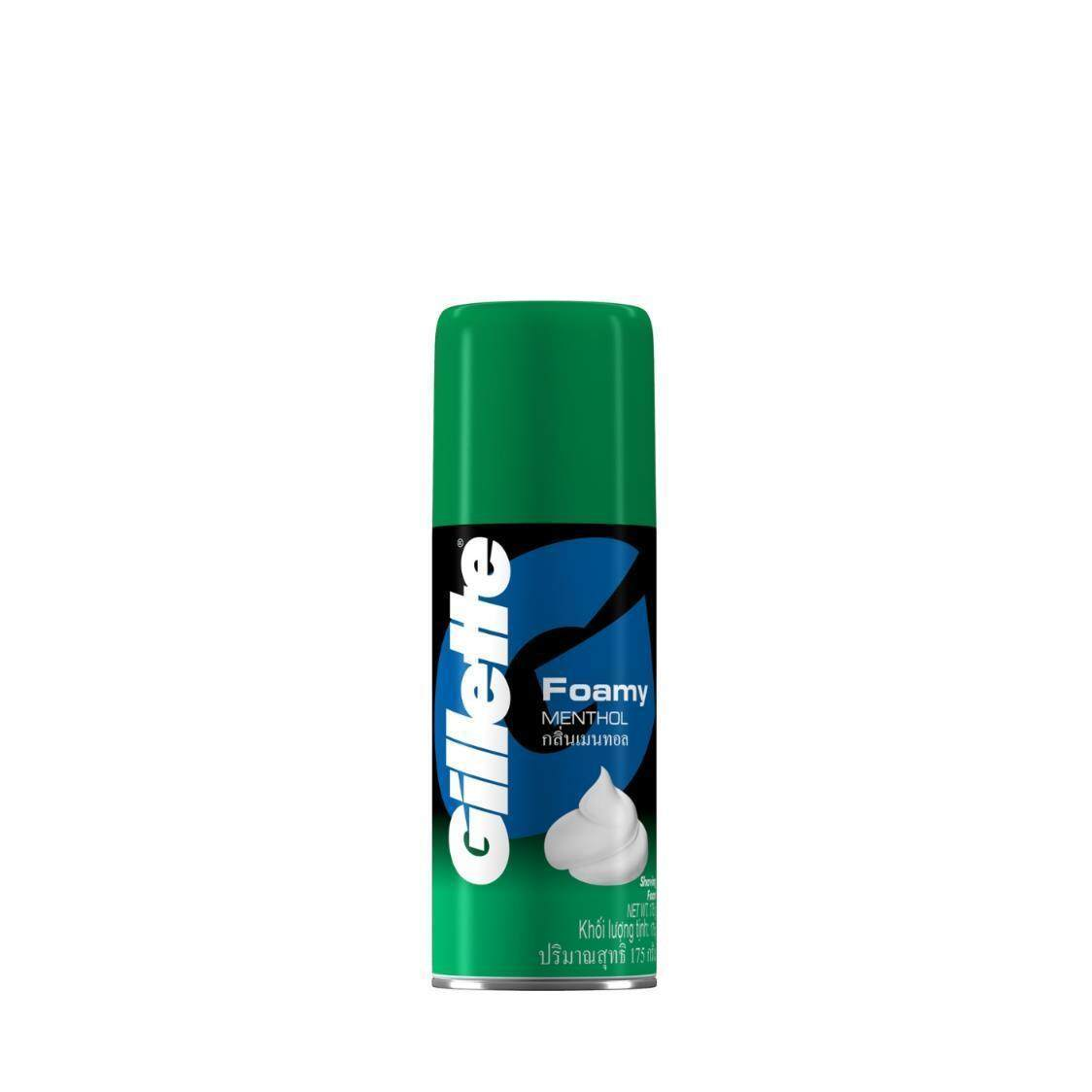 Gillette Foamy Menthol Shaving Foam 175g