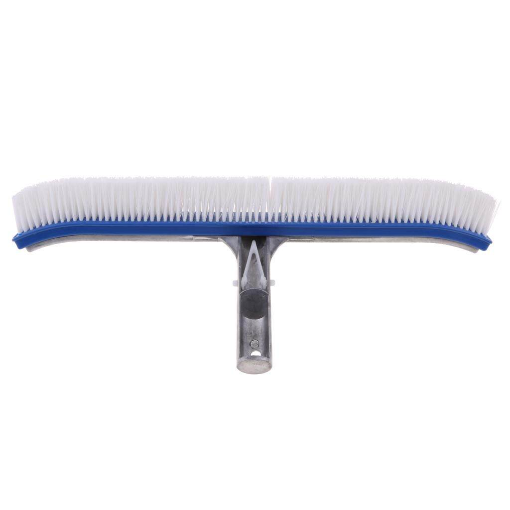 Magideal Pool Cleaning Brush Broom Swimming Pool Spa Heavy Duty D 18 Inch Aluminum - Intl By Magideal