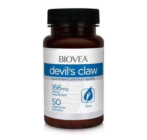 DEVIL\'S CLAW 166mg 50 Capsules