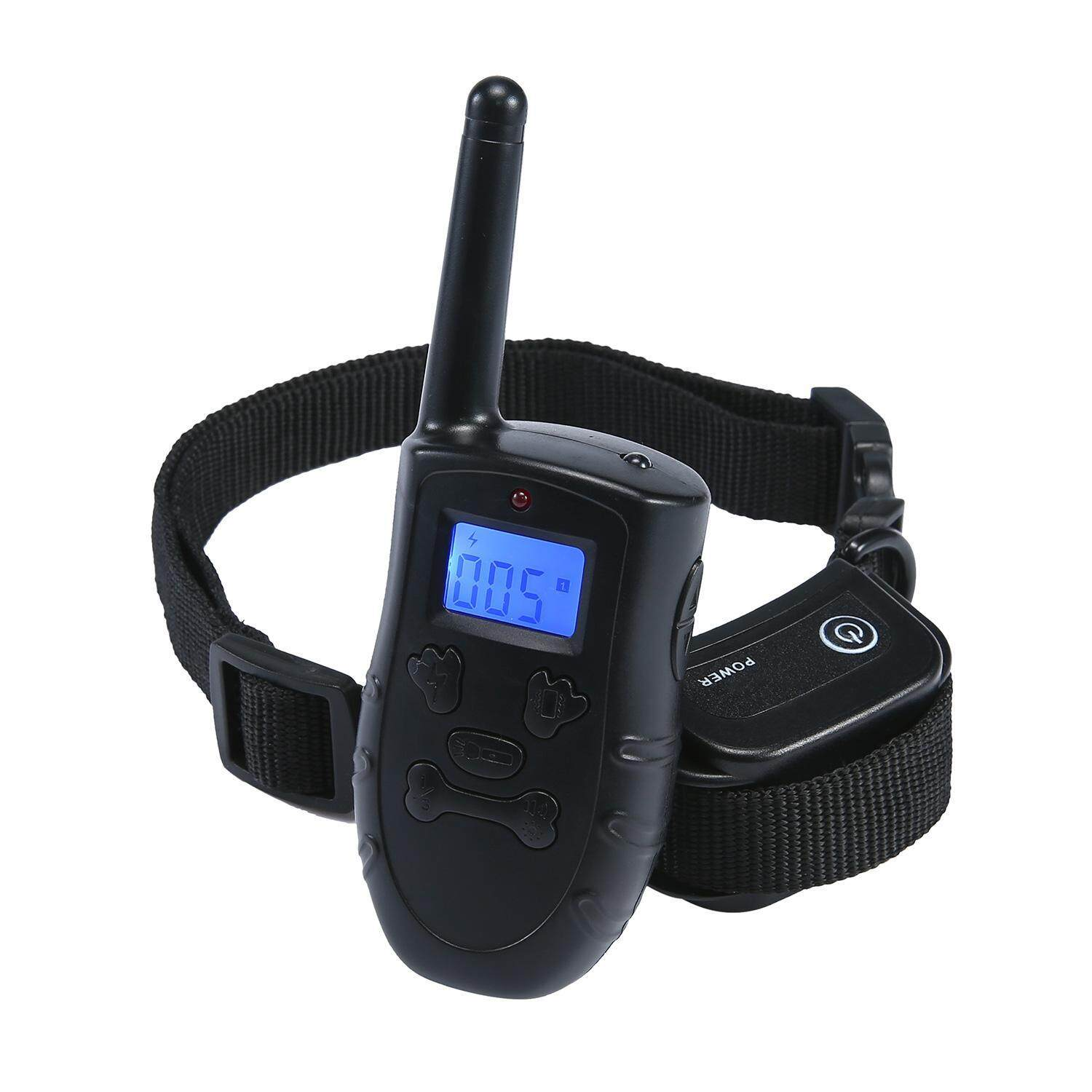 Leegoal Rechargeable And Rainproof 330 Yd Remote Dog Training Collar With Beep, Vibration And Shock Electronic Electric Collar By Leegoal.