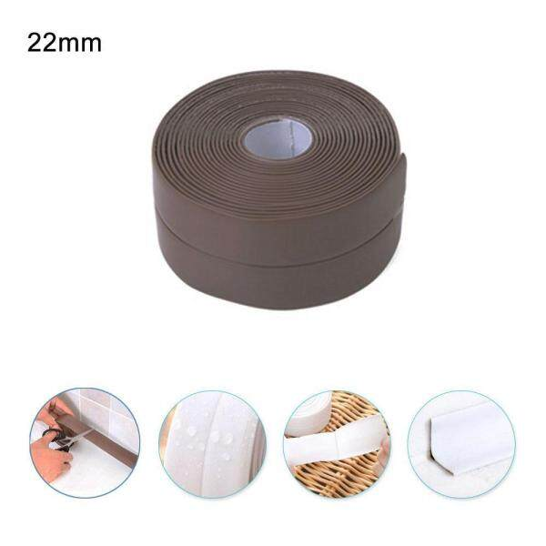 foonovom Kitchen Caulk Tape,PE Bath and Shower Gas Stove Self Adhesive Caulk Strip, Tub and Wall Sealing Tape Mildew Resistant Caulk Bathtub Sealer Strip - intl