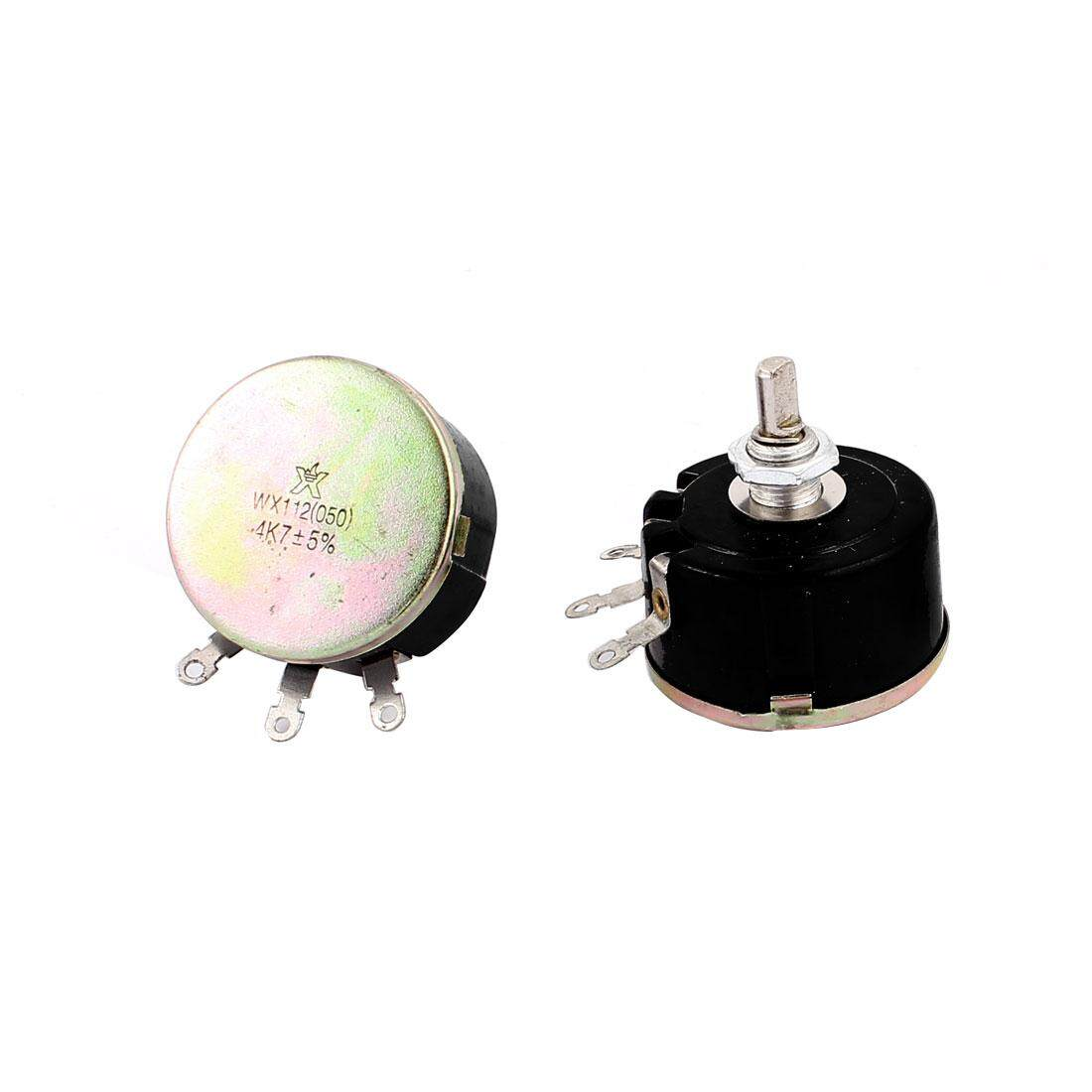Buy Sell Cheapest Axa Ac220v Potentiometer Best Quality Product Wiring A As Variable Resistor 2pcs 5w 47k Ohm 3 Terminal Wire Wound