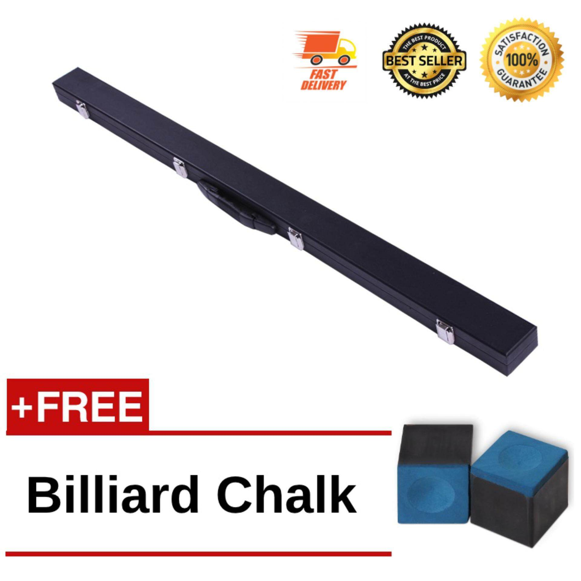 3/4 Billiard Pool/Snooker Hard Box Cue Case Bag Holder