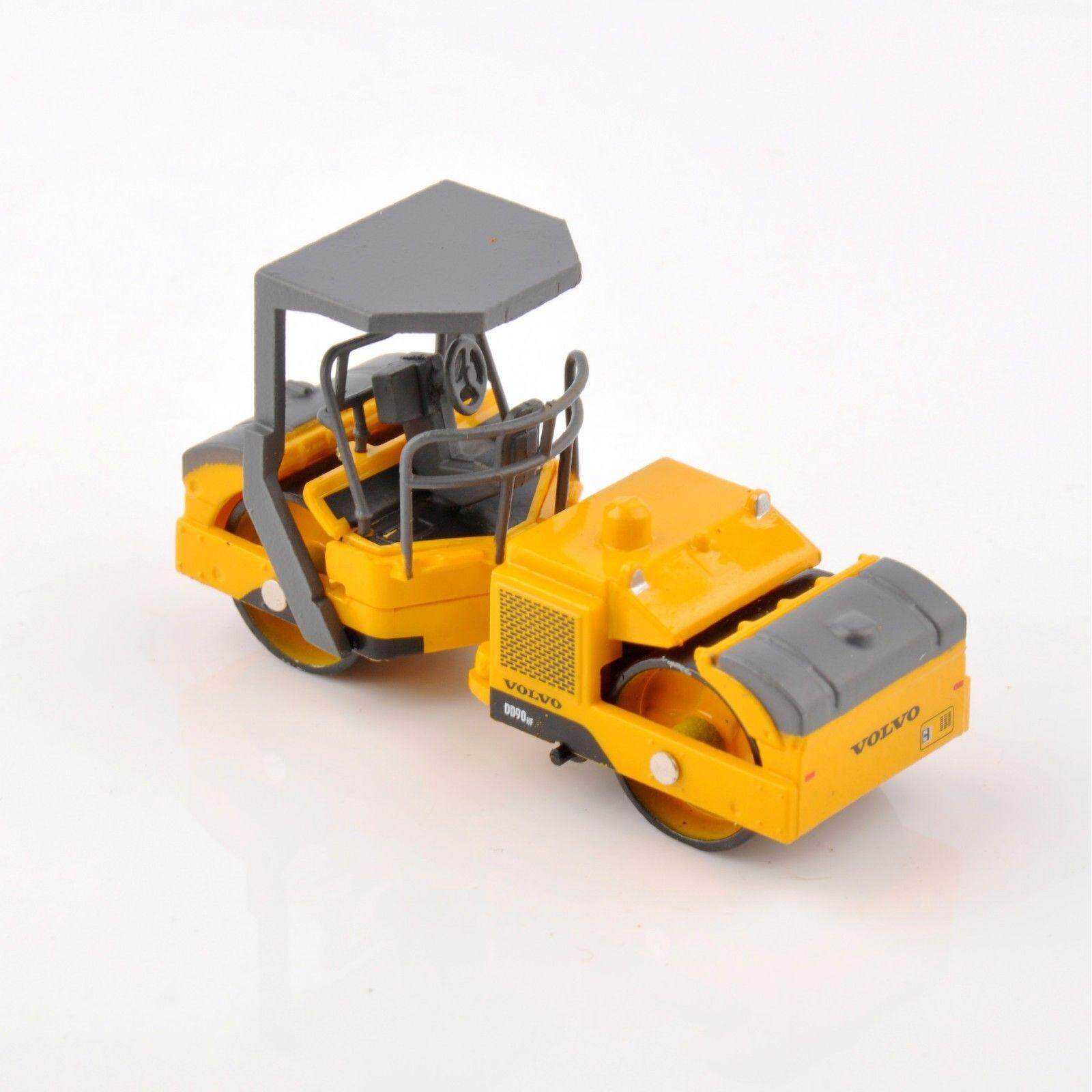 1/87 VOLVO DD90HF Tractor Road Roller Engineer Construction Truck Toys - intl