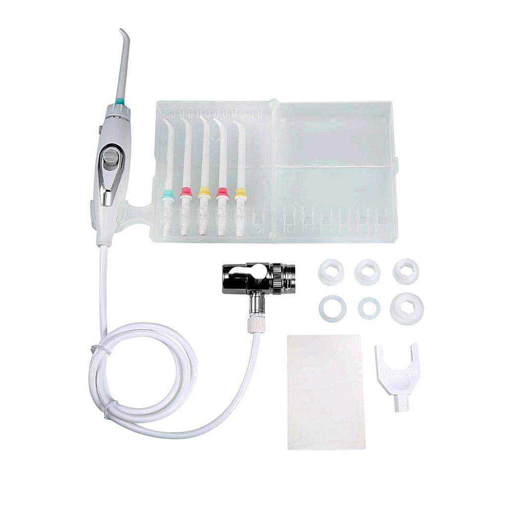 MagiDeal Oral Irrigator SPA Dental Water Jet Flosser Teeth Flossing Pick Cleaner Set - intl