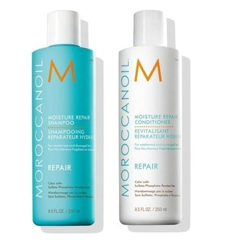Buy [Moroccanoil] Moroccanoil Moisture Repair Shampoo & Conditioner Combo Set (8.5 oz each) [From USA] - intl Singapore