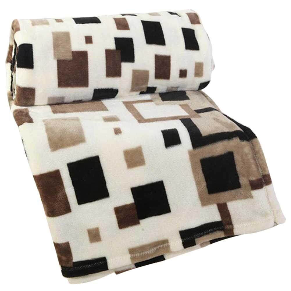 Cheap Brand Plaid Blanket Super Soft Throw Fleece Blankets On The Bed Winter Plaid Bedspreads 150*200