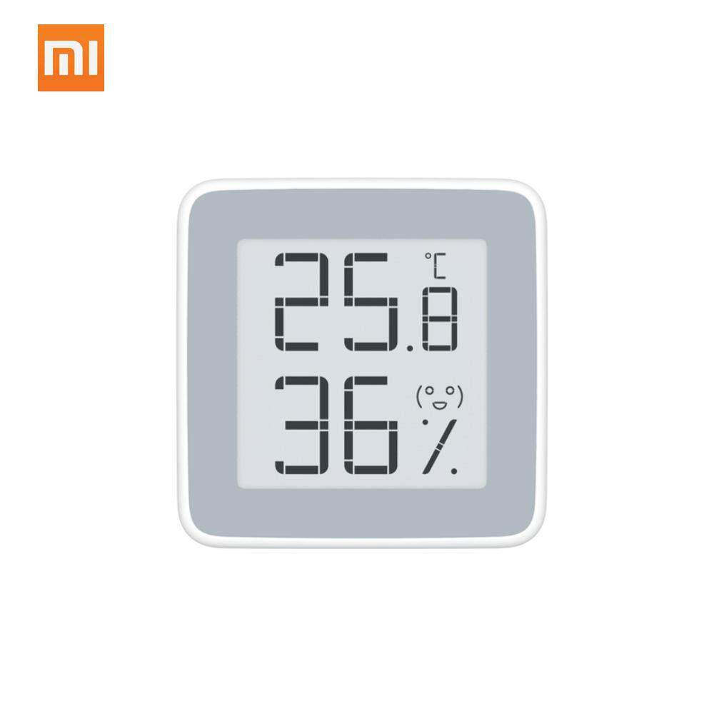Original Xiaomi Miaomiaoce Thermometer Electronic-Ink Screen Digital Moisture Temperature Humidity Sensor - Intl By Tomtop.