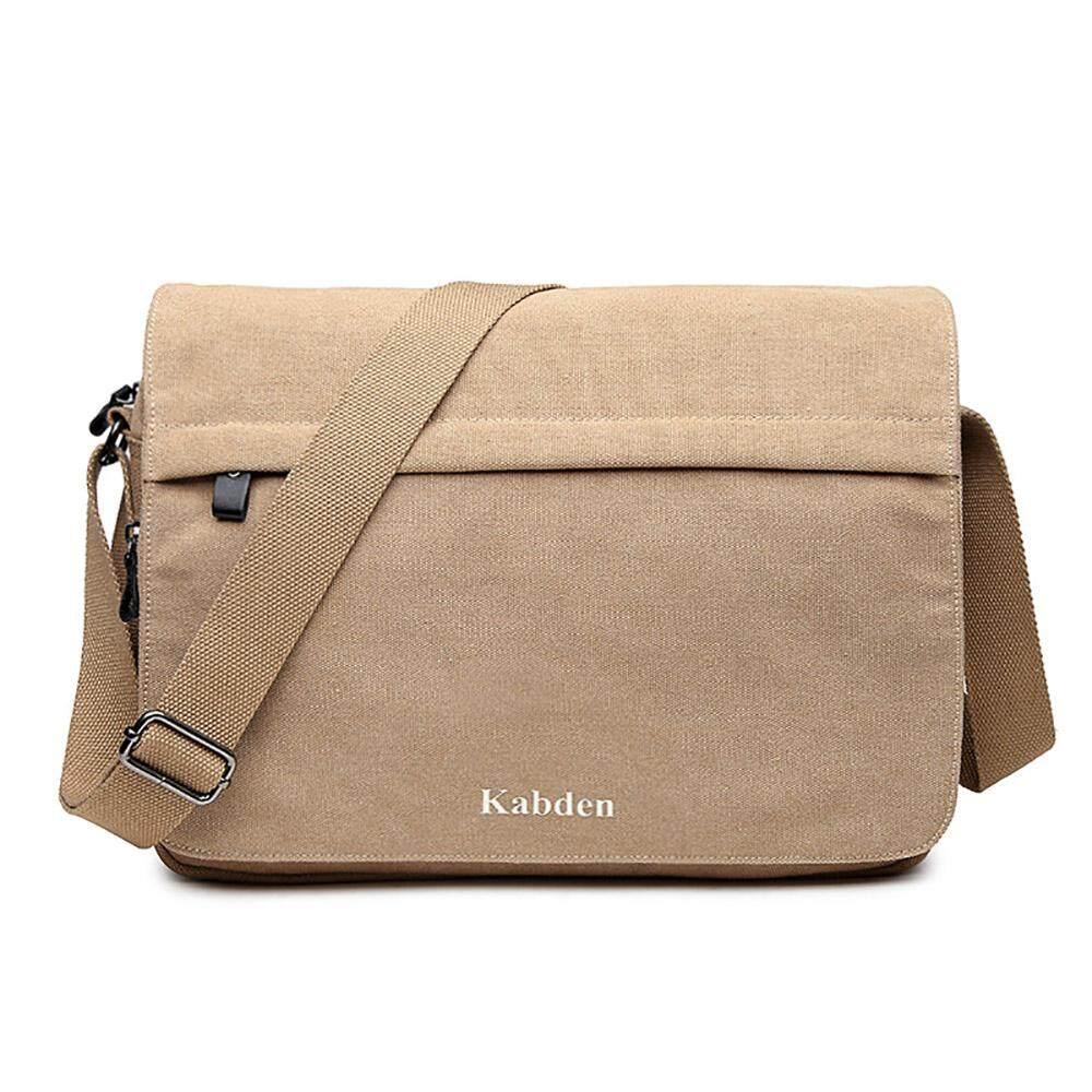 Eenten Mens Vintage Canvas Satchel Messenger Laptop Shoulder Crossbody Sling Bag