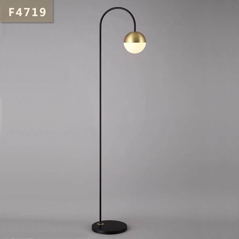 Nordic Novelty LED Bedroom Lighting Living Room Lamp Study Simple Modern Personality Bedside Fixtures Floor Lamps - intl