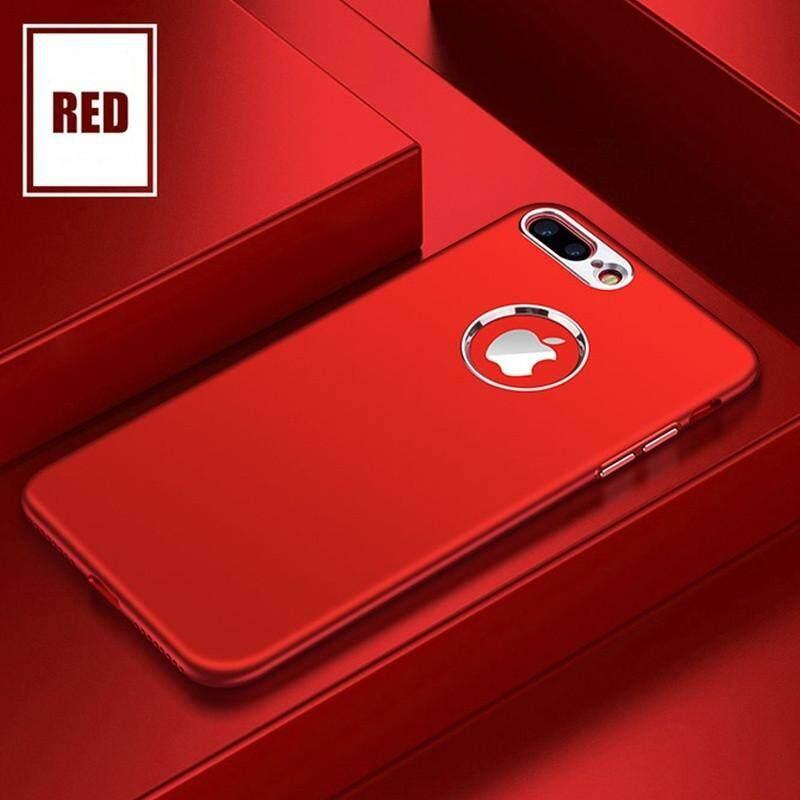 IPhone 7 Plus Case, Iphone 8 PLUS Case Luxury Matte Case Karet Anti Goncangan Silikon TPU Berbahan Lembut Casing Kover