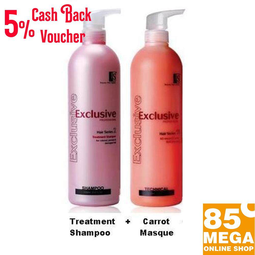 JS (2) 60 Second Carrot Masque  1000mL + Exclusive Treatment shampoo 1000mL **2 in 1 set**GREAT limited Promo SET