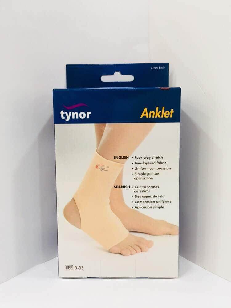 Tynor Anklet Support Pair (Beige)
