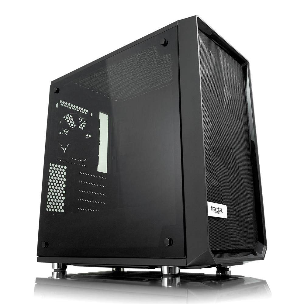 Fractal Design Meshify C Mini – Dark TG Desktop PC Chassis, Dark Tempered Glass Malaysia